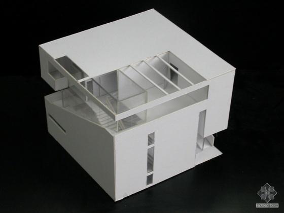[学生作品]正方体空间设计案例(JPG+CAD)