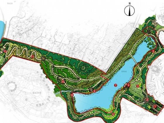 [重庆]生态公园景观方案设计