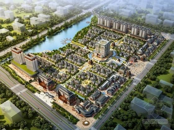 [湖北]中式风格产业园区规划及单体设计方案文本(含cad 资料齐全)