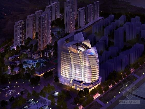 [浙江]五星级滨水酒店设计及周边地块规划方案文本