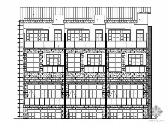 [东莞]某小区三层别墅住宅建筑施工套图(含节能设计计算及分析)