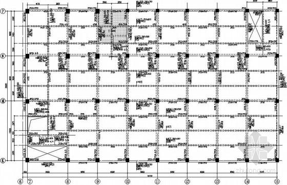 两层带电梯框架厂房结构施工图