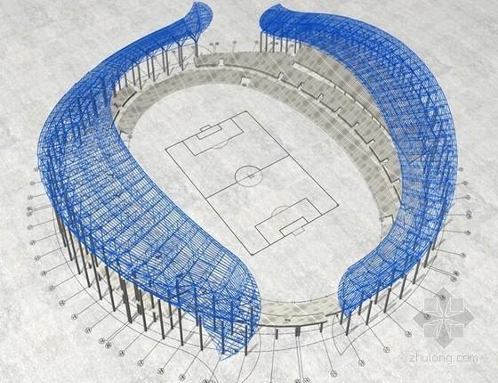 [河南]大跨度管桁架悬挑结构体育场钢结构工程施工方案(附流程图)