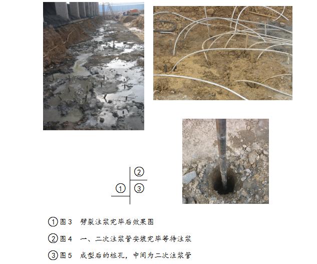 劈裂注浆综合地基处理施工工法