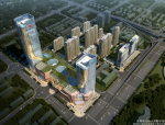【山东】民生大街地块城市综合体方案设计