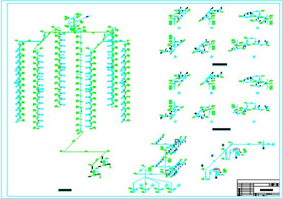 某高层商住两用建筑给排水施工图(包含给水、排水、消防)_2