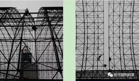 [行业资讯]大跨度煤棚焊接球网架液压顶升施工技术_22