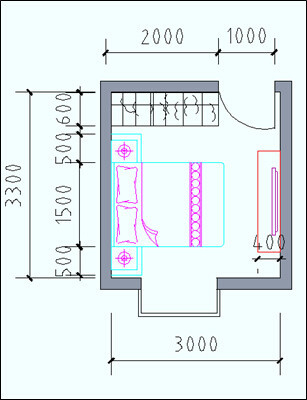 住宅户型的合理尺度(经济型、舒适型、享受型)_15