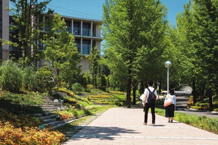 创价大学里环球广场景观-2