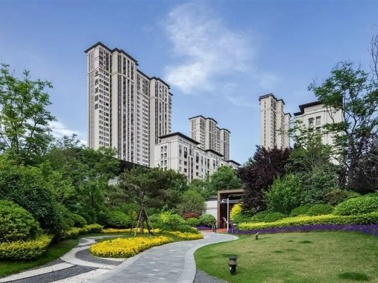 西安中国铁建西派国际住宅景观