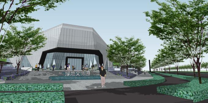 [江西]陶瓷文化创意中心住宅展示区景观设计方案