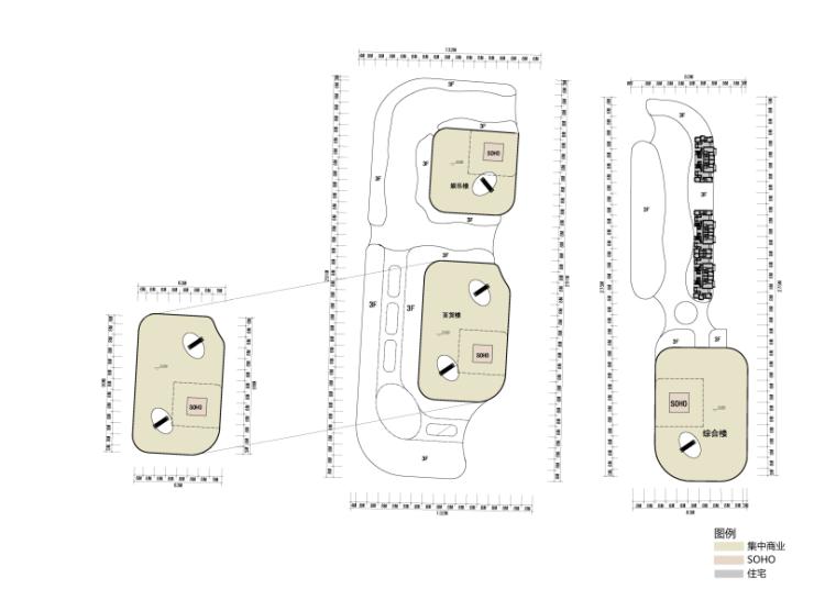 [河南]地标性超高层写字楼SOHO公寓及商业综合体方案(含CAD)_10