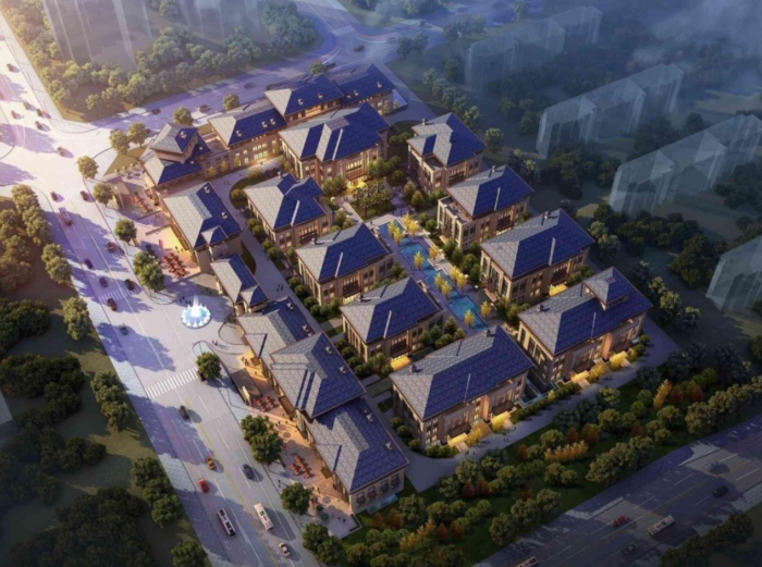 [陕西]企业总部基地商务办公建筑设计方案文本