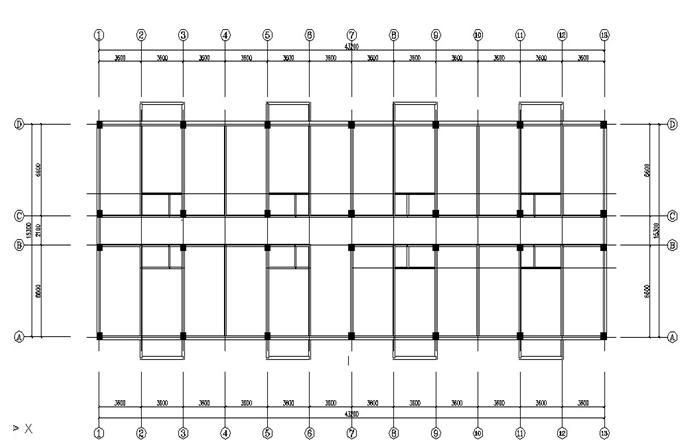 6层框架结构学生公寓毕业设计计算书