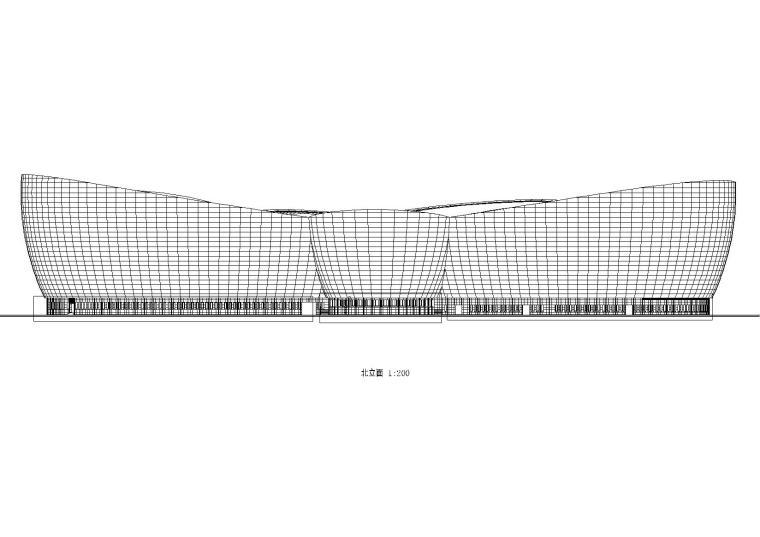 某知名艺术中心建筑施工图(图纸齐全)