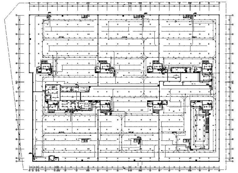 四川省信息化研究所厂房电气专业施工图
