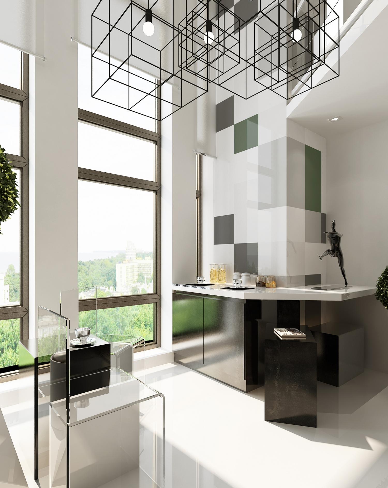 40平loft公寓办公样板间设计