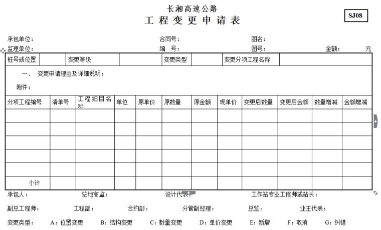 【湖南】高速公路规范化表格_3