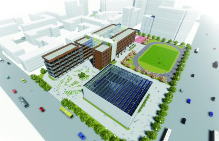 [上海]临港新城小学幼儿园建筑设计方案文本