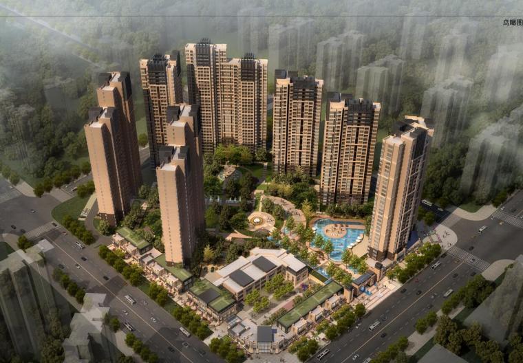 [四川]海赋长兴欧陆风格居住区建筑设计文本——柏涛(JPG+44页)