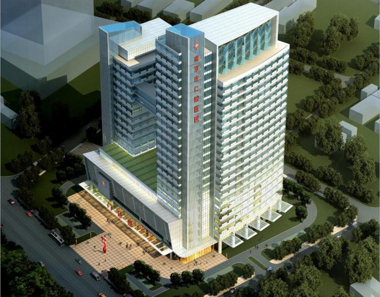 [江苏]南京现代风格医院建筑设计文本(JPG+32页)