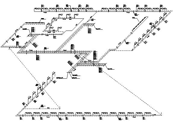 新疆高层办公楼全套暖通施工图(排版工整)