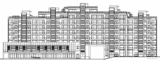 [浙江省杭州市]某高档组团公寓楼群建筑施工图(7栋)