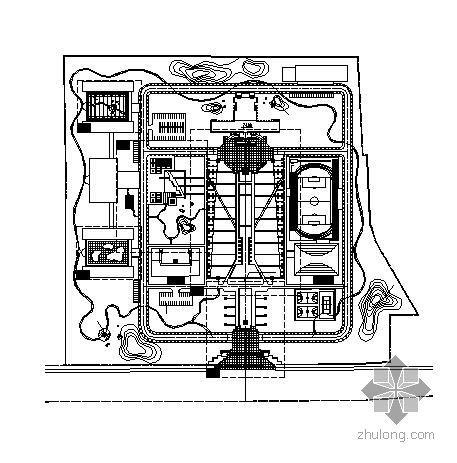 校区全套景观设计施工图