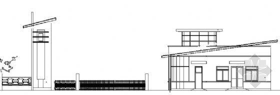 某医院大门建筑施工图