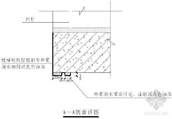 长春市某政府新建办公楼工程楼梯间抹灰技术交底记录