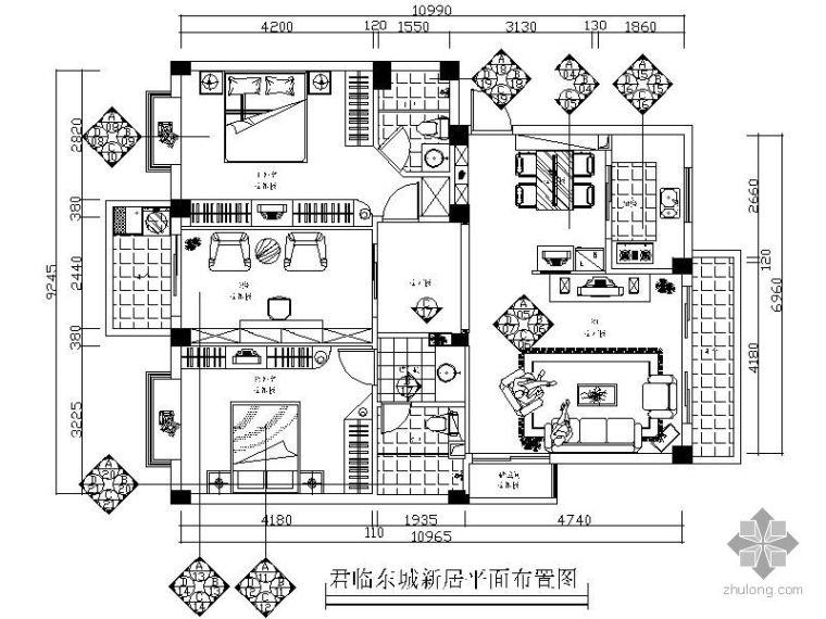 三室两厅装修图