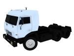 重型运输车3D模型下载