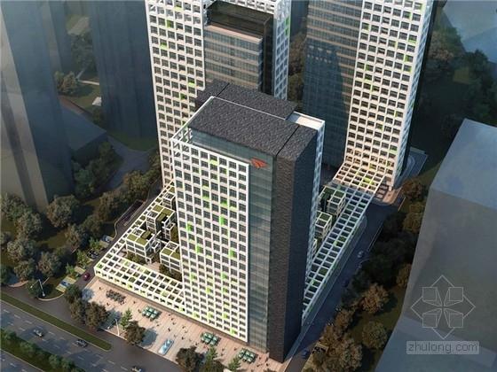 [福建]现代风格高层办公楼设计方案文本