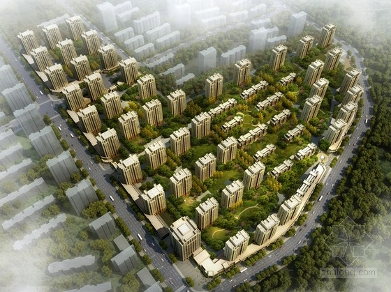 [沈阳]新中式风格住宅区规划方案文本(含CAD 及SketchUp 国际知名地产)