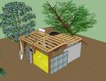 特色树屋建筑SketchUp模型下载