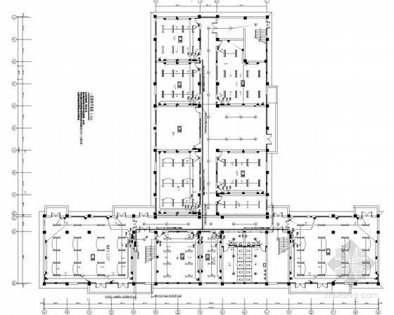 [安徽]城市供水水质化验中心楼电气施工图(最新)