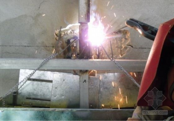 [QC成果]幕墙骨架焊接通用接火斗的研制