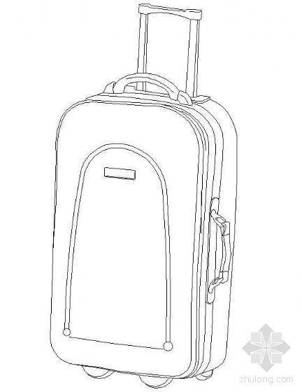 旅行箱图块