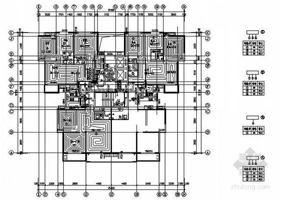 [秦皇岛]某高层住宅楼采暖通风设计图纸