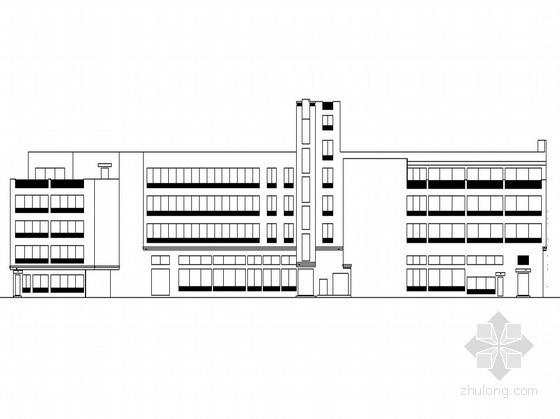 某四层综合办公楼建筑扩初图