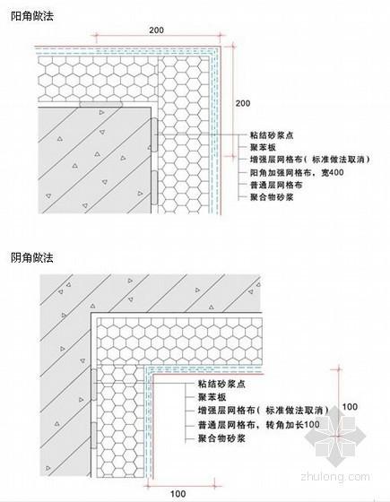 [北京]教学楼外墙保温施工方案(节点详图)