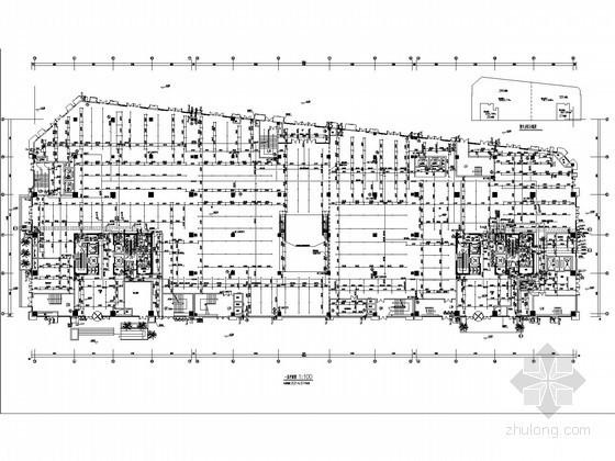 [江西]高层商业办公综合楼给排水及消防施工图设计