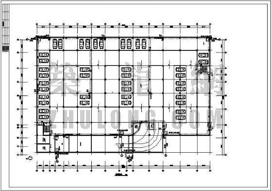 某三类地下车库消防设计图