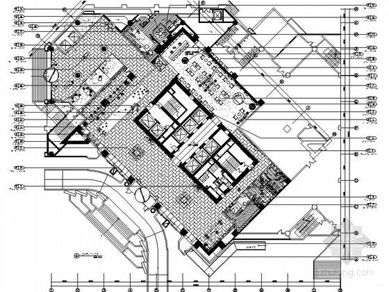 [四川]2.79亿夺标大厦改建四星级高档奢华酒店装修施工图(含方案)