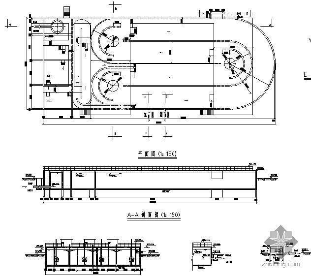 某工业园区污水厂毕业设计(图)