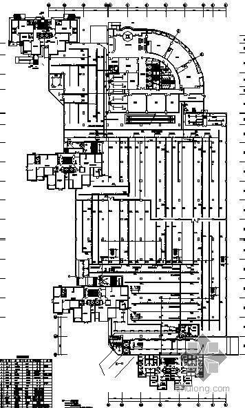 某二层地下超市及车库电气平面图