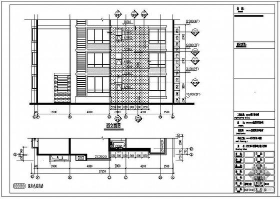 某住宅裙楼石材、百叶、雨蓬工程幕墙结构设计图