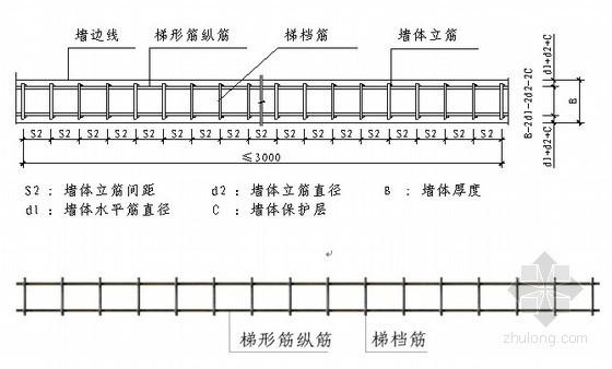 [北京]剪力墙结构住宅楼钢筋工程施工方案(节点详图)