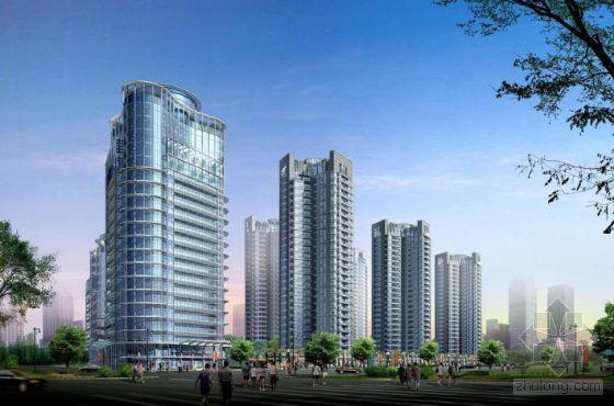 [北京]某高档公寓区投标方案文本