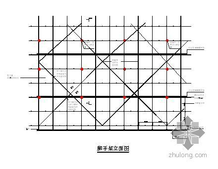 北京某办公楼幕墙装修脚手架施工方案